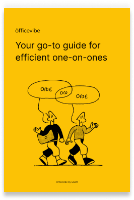 Cover of the one on one guide