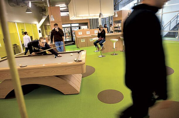 Organizational Culture Allows For Pool Table Usage At Google