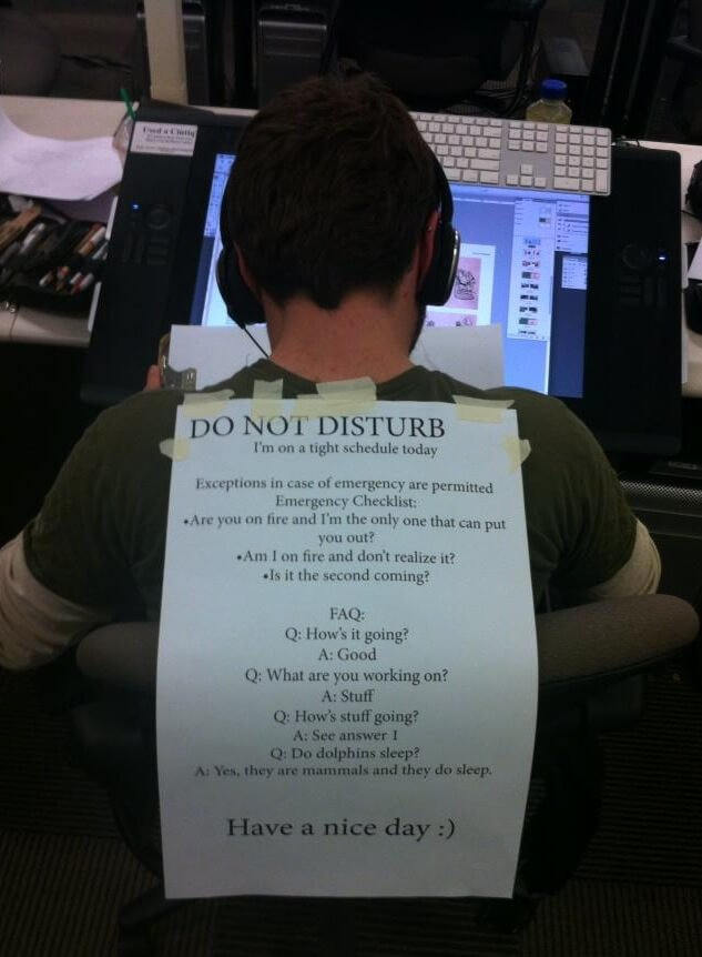 Do Not Disturb And Boost Productivity At Work