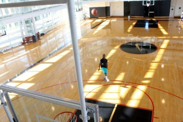 Nike Office: Here's the indoor basketball court