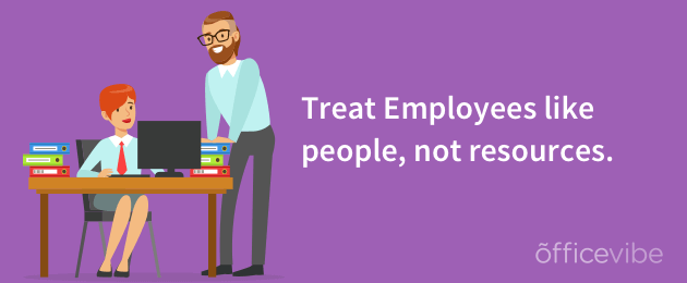 how to treat employees