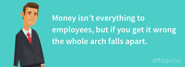 pay matters to employees
